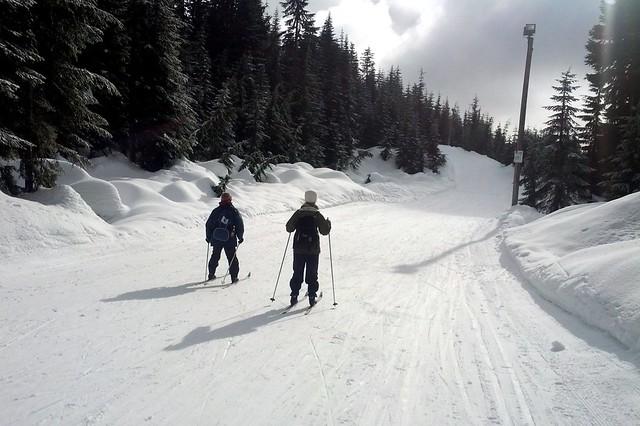Cross Country Skiing at Cypress