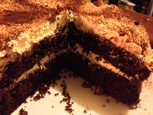 Mary Berry's Cappuccino Cake