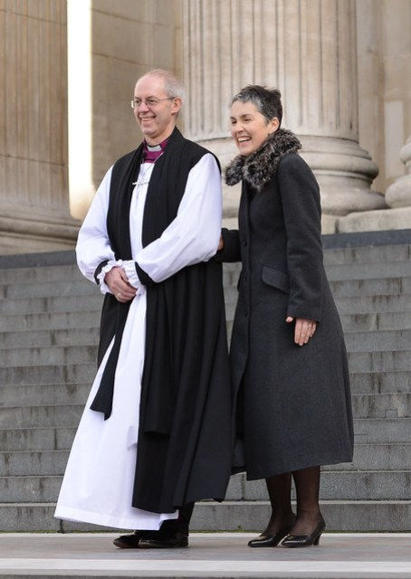 confirmaJustin Welby is made Archbishop of Canterbury at St Paul'stion of the Election of the New Archbishop of Canterbury