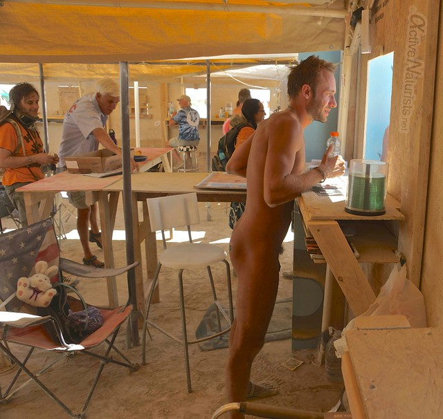naturist 0078 Burning Man 2012, Black Rock City, NV, USA