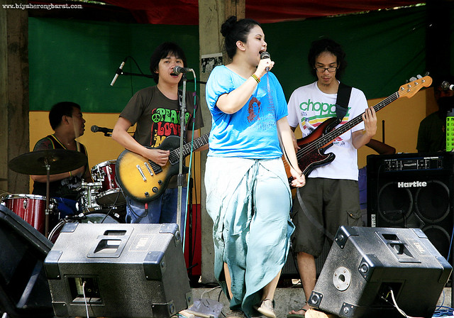 Lady I in Tiaong Gubat 5th Bob Day Roots Festival Quezon