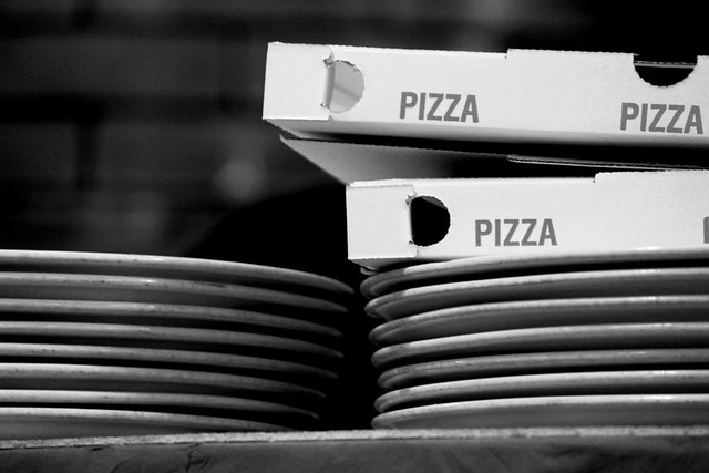 """There's no better feeling in the world than a warm pizza box on your lap"". Kevin James"