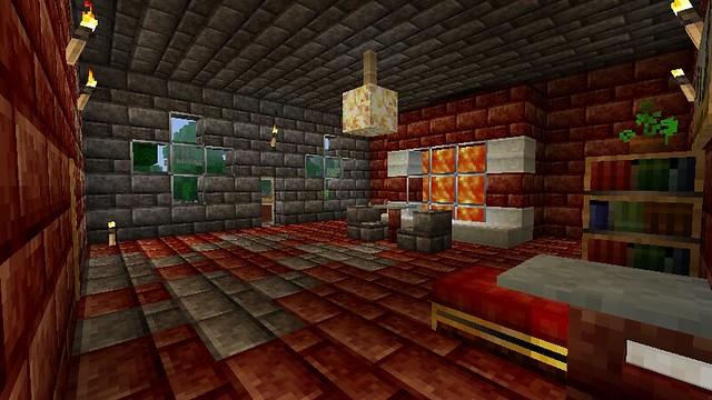 Minecraft Hotel - Red room