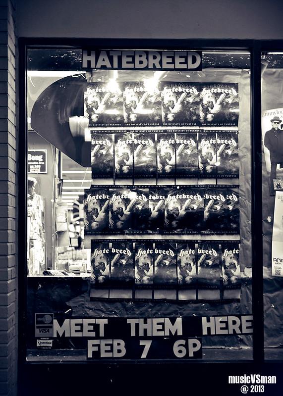 Hatebreed @ Vintage Vinyl