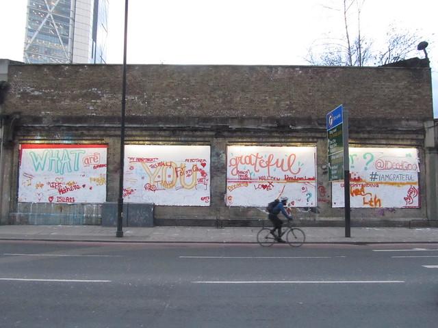 #IAMGRATEFUL (Great Eastern Street, London)