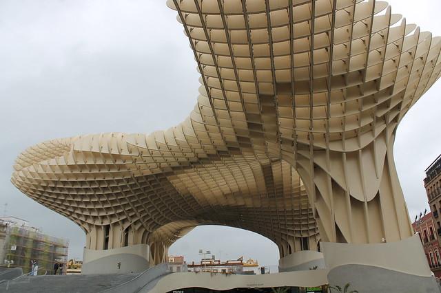 Sevilla - pedestrian ploschad