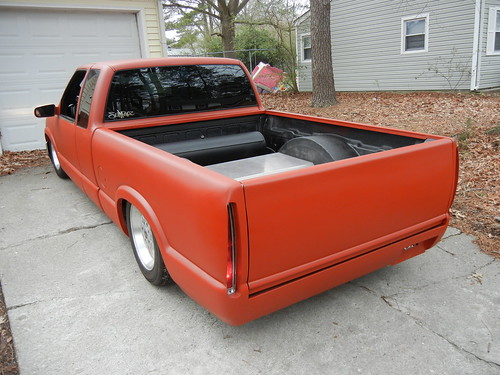 New 2000 Chevy S10 Air Bagged Project