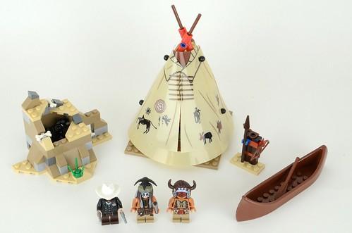 79107 Lone Ranger Comanche Camp