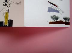 Denis Lachaud, Imparo il tedesco. 66THAND2ND 2013. Progetto grafico: Silvana Amatao, Marta B Dau. Alla cop.: disegno di Julia Binfield. Copertina, risvolto di cop. (part.), 1