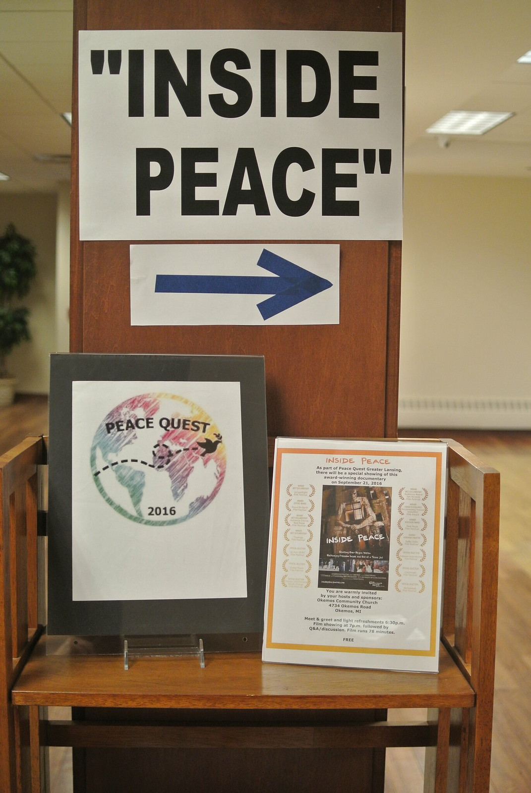 Inside Peace movie showing during Lansing PeaceQuest 2016 (5)