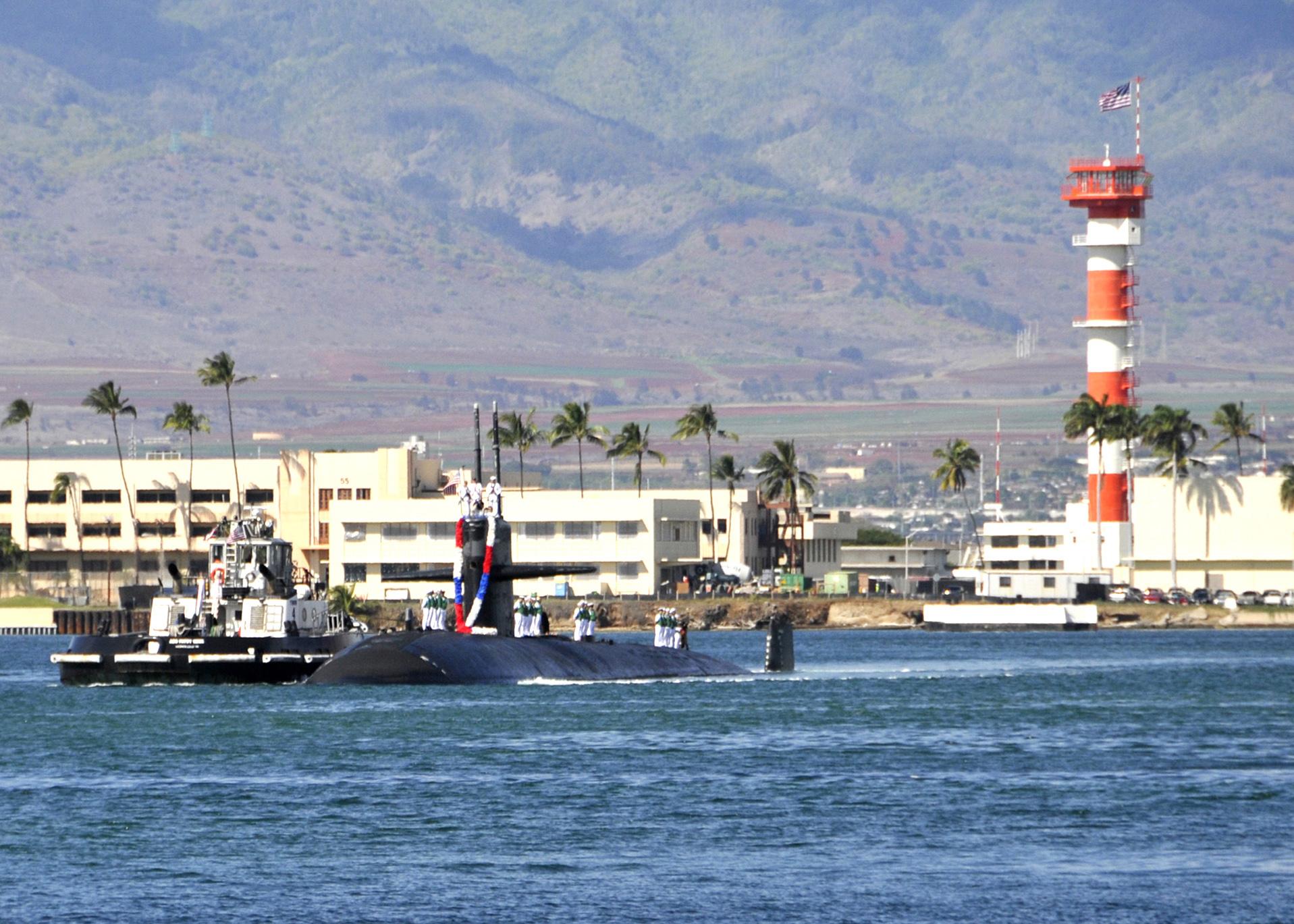 Uss Buffalo Welcomed To New Homeport With Aloha