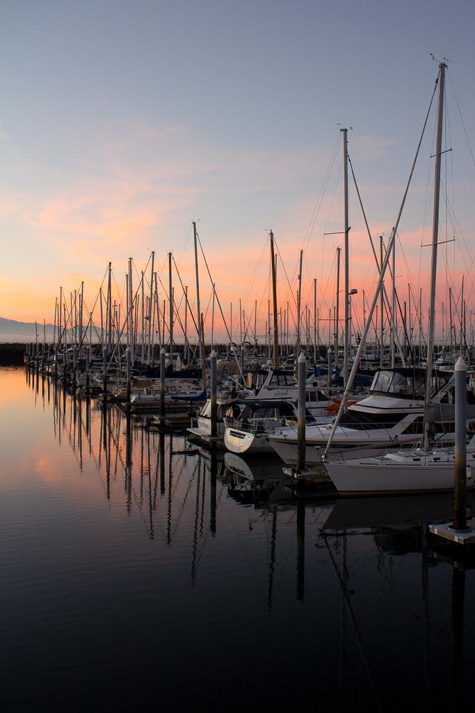 Shilshole Bay Sunset