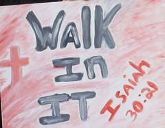 Walkers sign