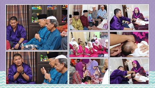 Majlis Aqiqah & Tahnik Muhammad Ali Irfaan