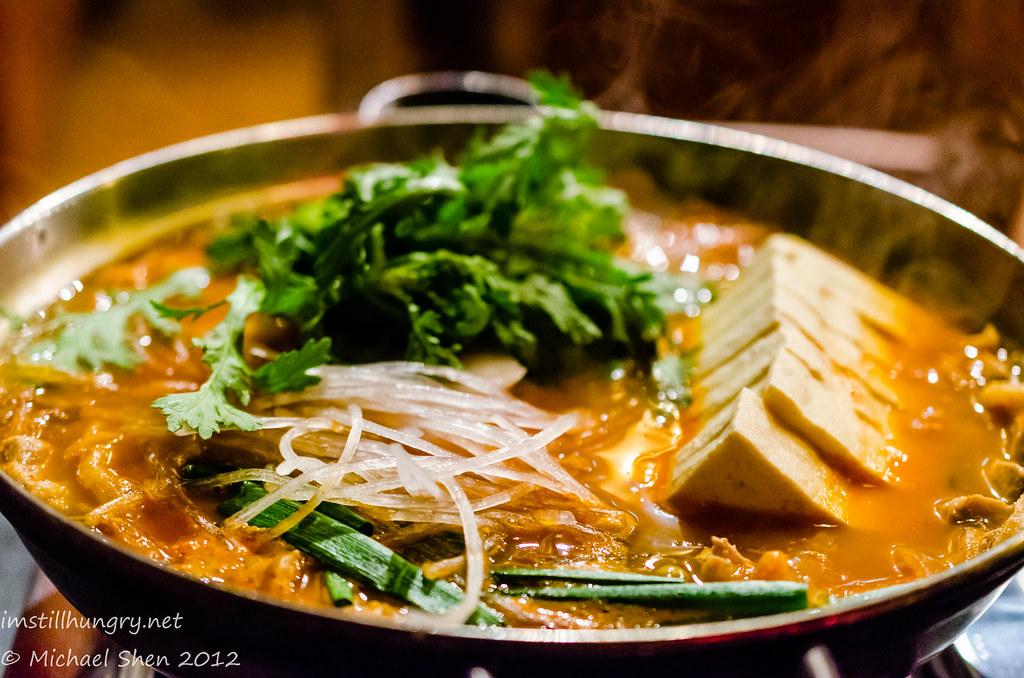Sydney Madang Bulgogi & tofu hot pot
