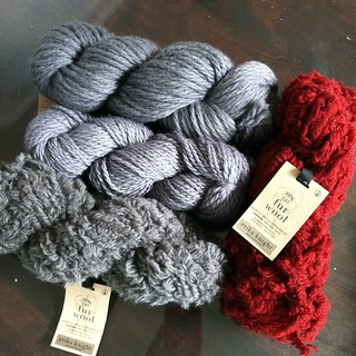 TNNA sample yarns & products.