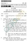 UPTU B.Tech Question Papers -BT-603 - Environmental Biotechnology-I