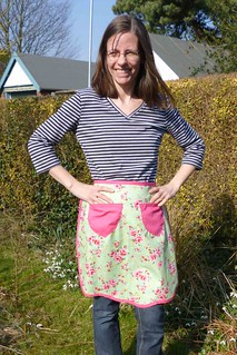 modelling apron