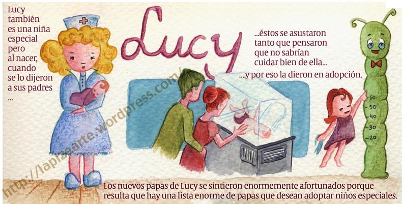 Esta es Lucy... el día que nació.