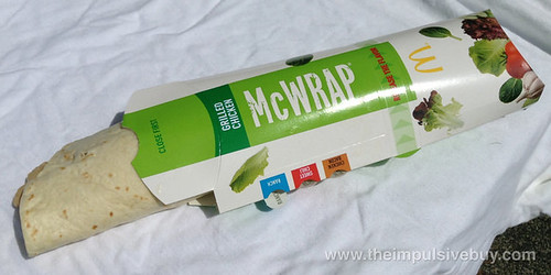 McDonald's Grilled Chicken & Ranch Premium McWrap
