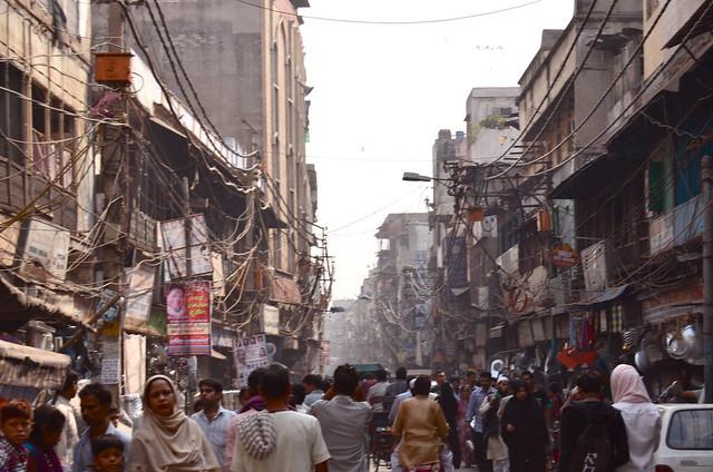 delhi, old delhi, india, crowds, asia, travel, jama masjid