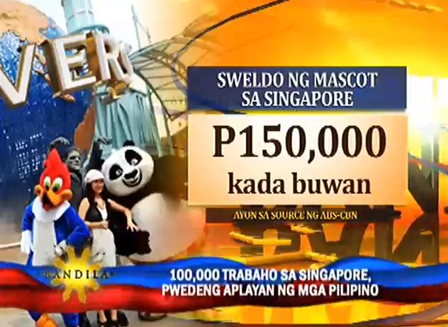 Earn P150,000 as a cartoon mascot!