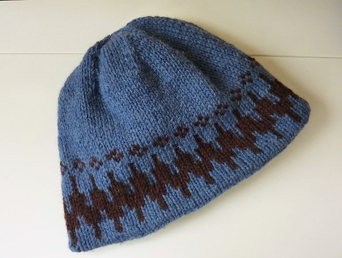 Very Warm Hat, patterned side
