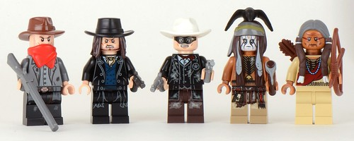 79110 Silver Mine Shootout minifigs