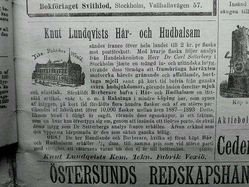 Ny produkt 1898 by Historiskt
