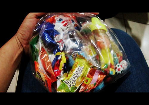 ¡La bolsa de dulces del babyshower de #littlesoda! :D