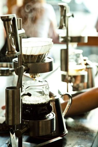 Four Barrel Coffee slow bar V60