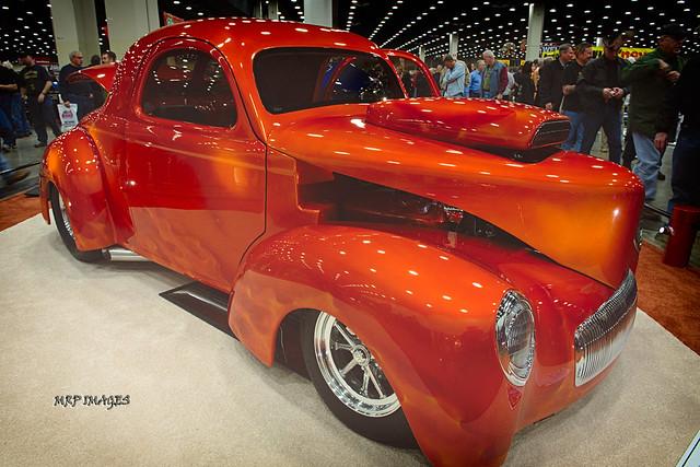 Paint Motorcycle Orange Burnt Color