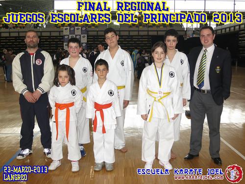 Final Regional de los Juegos Escolares del Principado 2013