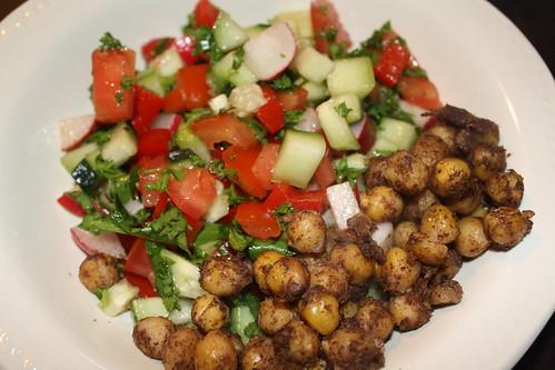 Vegetable & Spiced Chickpea Salad