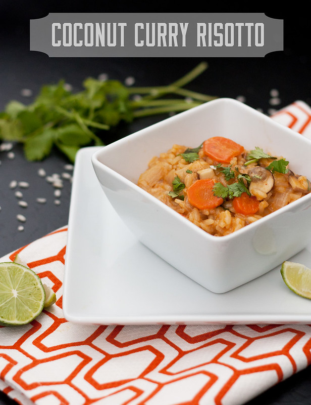 Coconut Curry Risotto