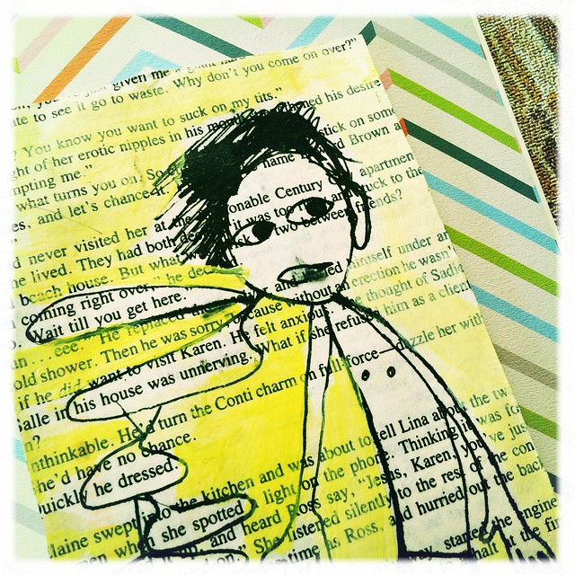 mail art postcard