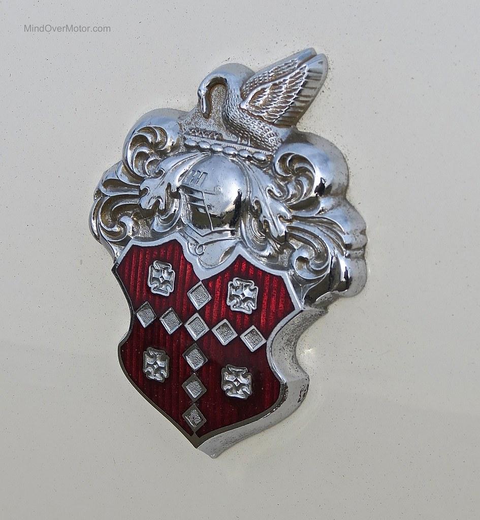1956 Packard Caribbean emblem