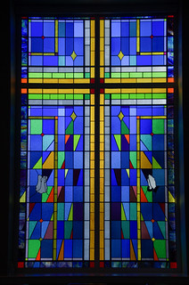 Bethesda Methodist Stained Glass