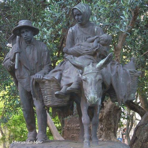 Família de camponeses by lusografias