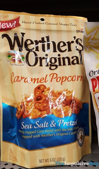 Werther's Original Caramel Popcorn Sea Salt & Pretzel