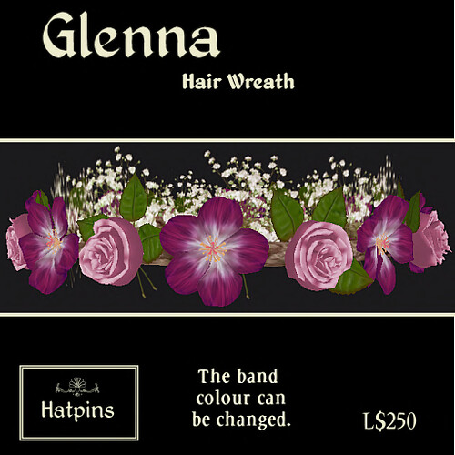 Glenna Wreath - Pink Rose and Fuchsia Hibiscus copy_mod