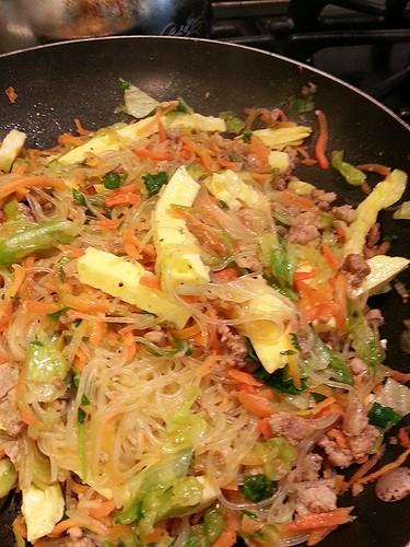 asian veggie and pork stir fry by pipsyq
