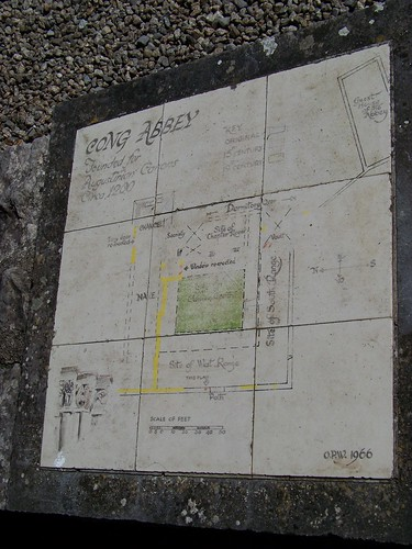 Cong abbey map
