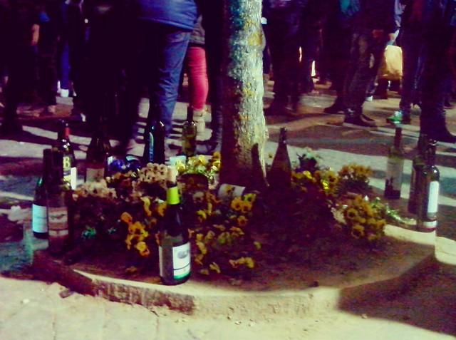 Botellas vacías, alegría generalizada y la fiesta continúa hasta altas horas