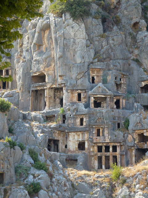 Turquie - jour 10 - Demre (Myra) - 023 - Nécropole de Myra (Örenyeri)
