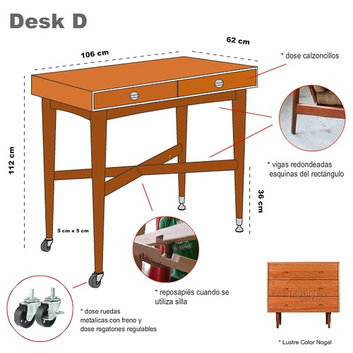 StandUp Desk Design D