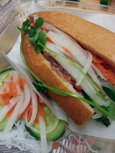 pork bahn mi by pipsyq