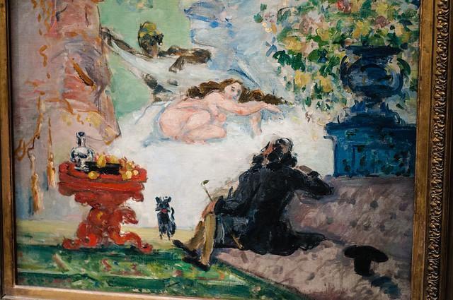 A Modern Olympia - Cezanne