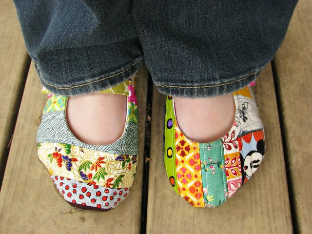 Handmade Quilted Shoes