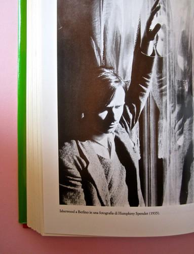 Stephen Spender. Un mondo nel mondo. Il Mulino 1992. Sovracoperta di Alberto Bernini. Pag. 5 delle tavole fuori testo (part.), 1